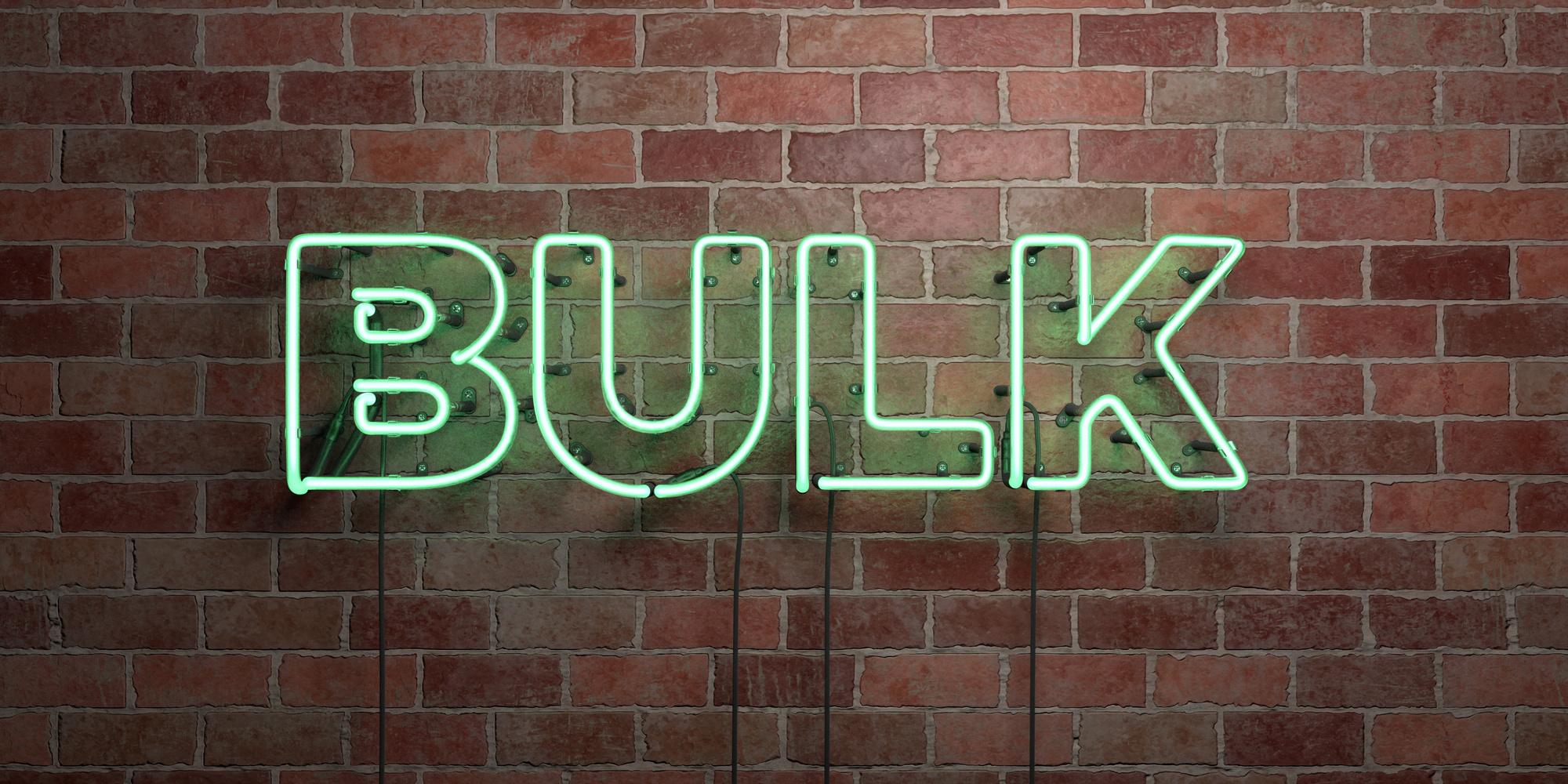 bulk sign in neon