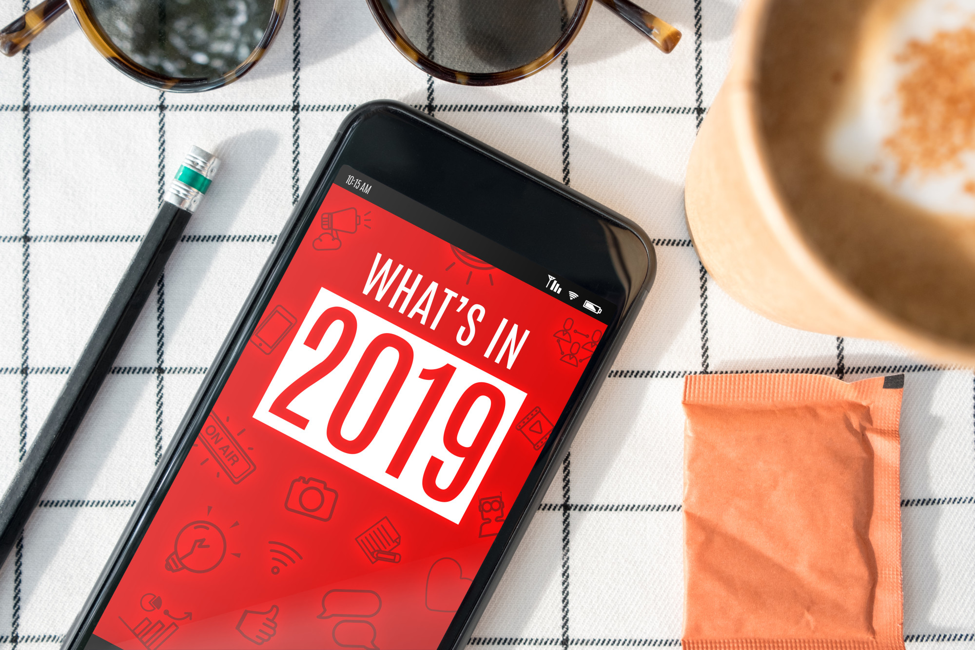 What's in 2019 on cell phone