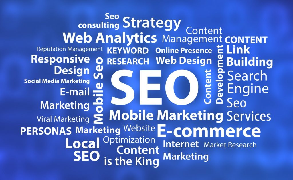 seo mobile marketing and related text